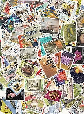 Jersey Guernsey & Isle of Man selection 500 stamps (all different)