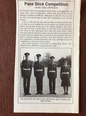 N5a Ephemera 1996 Article Reme Pace Stick Winners S Mack J Mcfarlane K Smith for sale  Leicester