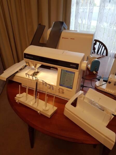 Husqvarna Viking Designer 1 Sewing And Embroidery Machine Sewing