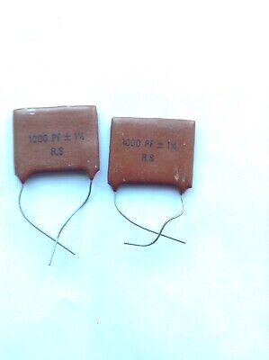 10 x AVX SA 105 e 104 Marc 50V 0.1UF condensatore