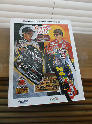 Charlotte Motor Speedway Coca-Cola 600 May 1995 Collector's Edition Magazine