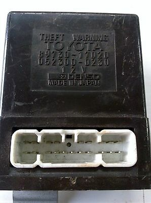 TOYOTA MR2 2.0L THEFT WARNING RELAY 89730-17020 Genuine Used Part