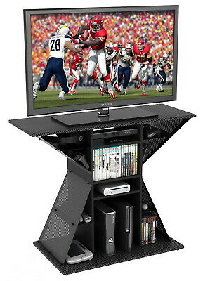 """Video Game Stand Gaming Storage Rack Hub for 42"""" TV PS4 XBOX"""
