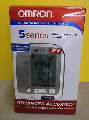 NEW Omron 5 Series Upper Arm Blood Pressure Monitor MODEL BP742N - RC 2220