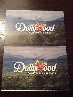 2 DOLLYWOOD TICKETS FOR ADULTS OR CHILDREN - Valid Through 01/02/21. $140 Value!
