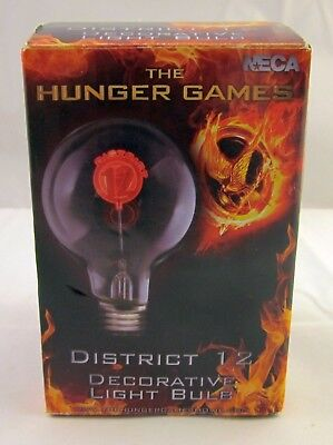 The Hunger Games Decorative District 12 Lightbulb (2012) - Hunger Games Decorations