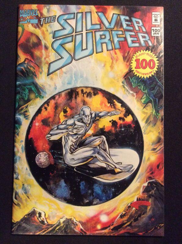 Silver Surfer 100 Non-Hologram Cover