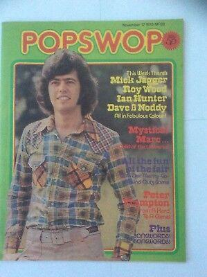 POPSWOP MAGAZINE 17TH NOV 1973 - MARC BOLAN - SLADE - MICK JAGGAR