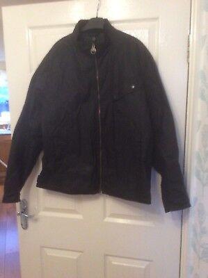 - barbour international wax jacket xl
