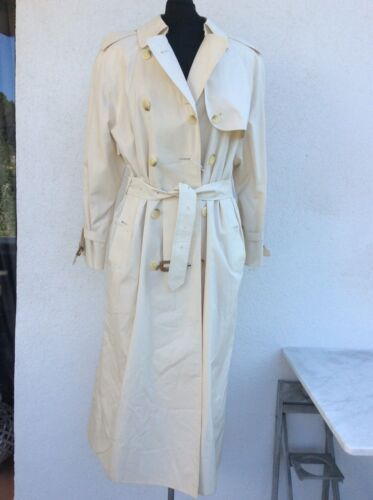 Superbe trench coton beige burberry 40/42 neuf