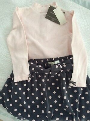 Beautiful Two Piece Outfit WENDY  BELLISSIMO Top And Skirt  48 Months - Wendy Outfit
