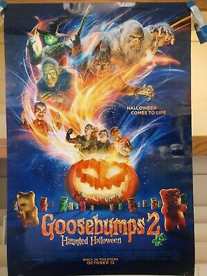 Halloween Coming Soon (Goosebumps 2 Haunted Halloween authentic 27 x 40 Coming Soon D/S Movie)