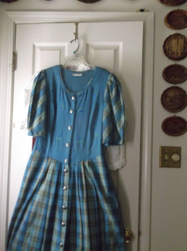 Authentic German Trachten Dirndl Landhaus Dress