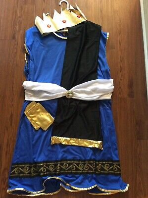 Greek God Costumes Men (Men's Greek God King Zeus Halloween Cosplay Costume Adult XL-XXL)