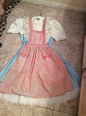 Dorothy from the Wizard of Oz cc/Universal Studios costume size 6/8 medium - Dorothy From Wizard Of Oz Costume
