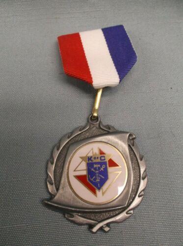K of C Knight of Columbus  medal pin