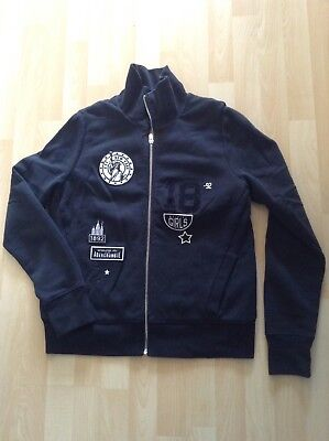 Women's Size Large Black Jacket By Abercrombie & Fitch