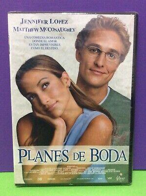 PLANES DE BODA - DVD- NUEVO PRECINTADO