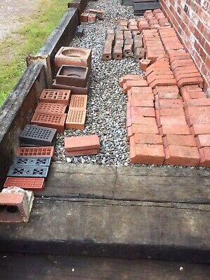 Reclaimed Terracotta Brick Outer Course Lots Of Choice 1.00 Each Win Only 1