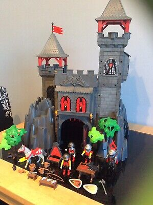 Playmobil Set 3269 Knights Rock Castle, Preowned
