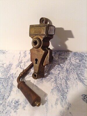 Vintage French Chateau Door Lock & Handle