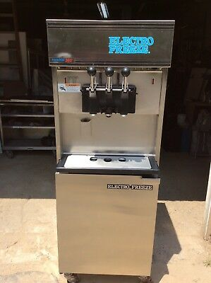 Electrofreeze Soft Serve Machine Pressurized 1 Ph. Air Cooled 88t-rmt 3 Flv