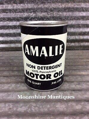 Vintage AMALIE 1 qt Motor Oil Can - Gas & Oil