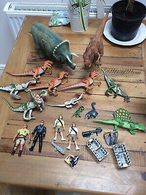 Original Jurassic Park Dinosaurs + Figures Bundle Jurassic World