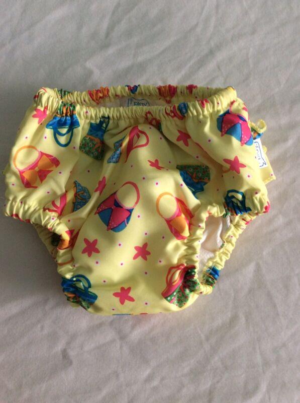 IPlay Reusable Baby Girl Swim Diaper 18 Months