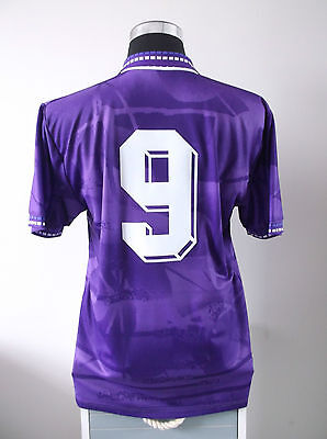 Gabriel Batistuta #9 Fiorentina Home Football Shirt Jersey 1994/95 (L) image