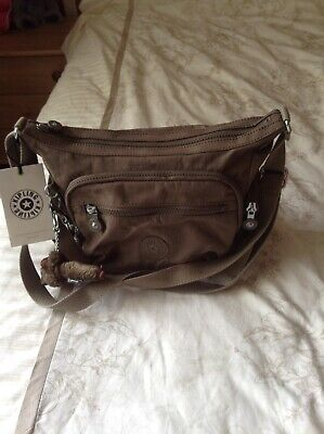 Kipling Medium True Beige Gabble Bag