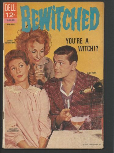 1965 Dell Bewitched #1 Fine+
