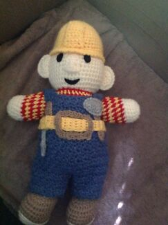 Big Bob the builder /home made knitted Doonside Blacktown Area Preview