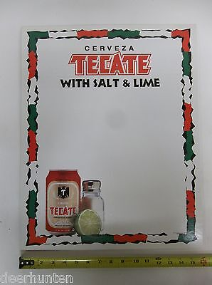 "NEW TECATE BEER SIGN/POSTER 16""X20"""