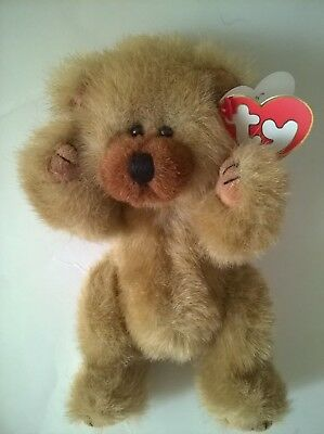 TY BEAR CODY ATTIC TREASURES RETIRED JOINTED 1993 TAG YOU'RE AS SWEET AS HONEY