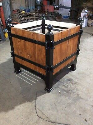 Large Tree Planter Box Versailles Style Landscaping Garden Rustic Architectural