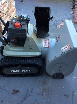 Craftsman Dual Stage Trac-Drive Gas Snow Blower wi