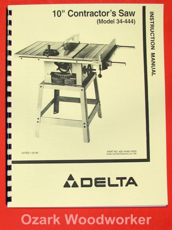 """DELTA 10"""" Contractor"""