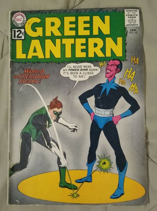 Green Lantern #18 (1963, Gil Kane Art) *WOW*