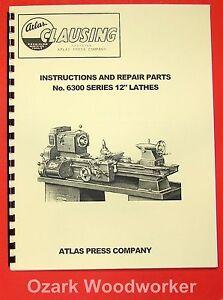 CLAUSING-Atlas-12-6300-Series-Lathe-Operating-Parts-Manual-0156