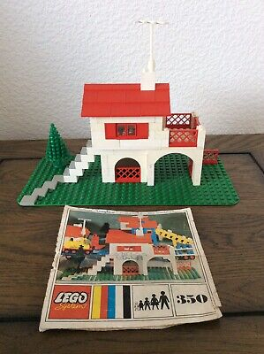 Vintage Lego System 350 Swiss Villa