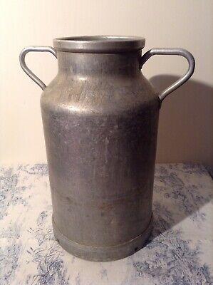 Vintage French Milk Churn - Wedding, Garden - Marked MR (3849)