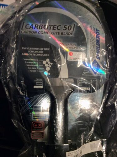 Tischtennis Schläger Carbotec 50 Donic Schildkröt — NEU & ORIGINAL —