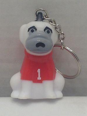 Htf American Heart Association Soccer Pup Dog Keychain Key Chain Ring