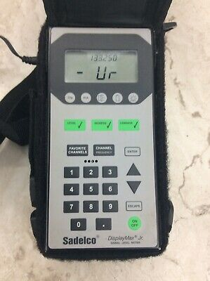 Sadelco Displaymax Jr. Signal Level Catv Meter
