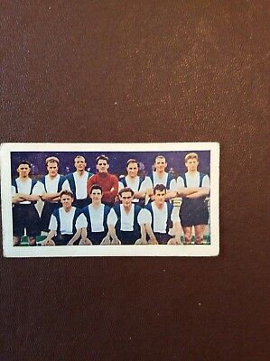 J1b Trade Card Football Soccer Bubble Gum Teams 1950s No 42 Hartlepools Moore Lu for sale  Shipping to Ireland