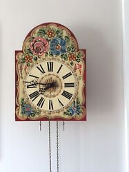 Black Forest Wall Clock For Restoration