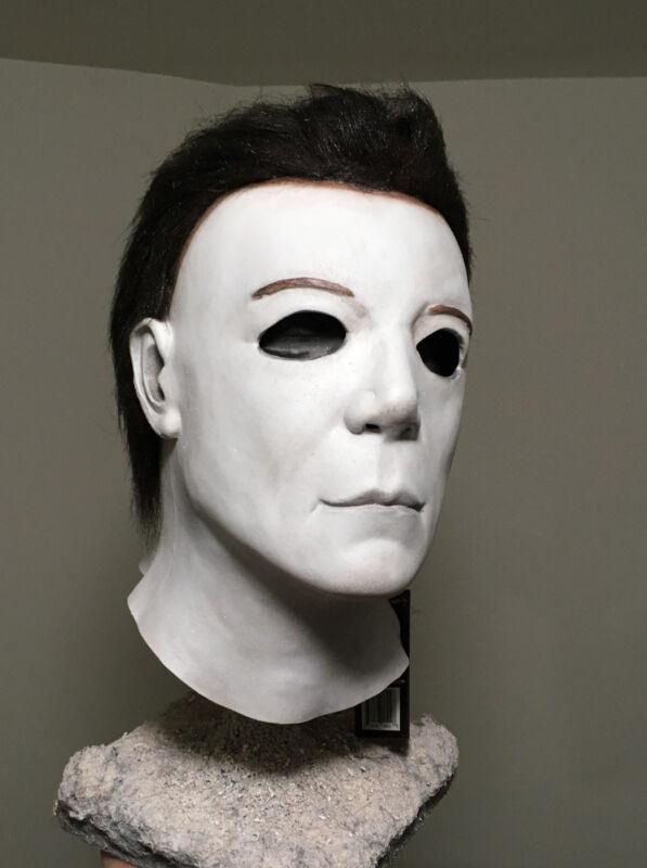 H8 Resurrection Myers Rehauled Custom Halloween Mask Jason Myers Mask