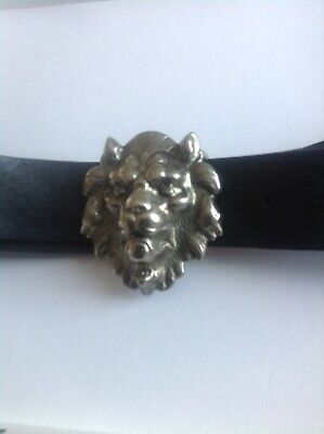 Versace Versus Vintage Leather  Belt New Without Tags