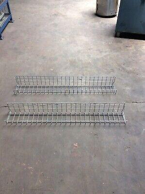 Lot Of 35 Gridwallslatwall Shelves 48 Wide